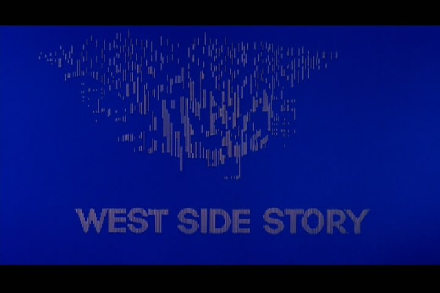 Saul Bass' striking opening credits