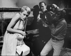 Polanski with camera