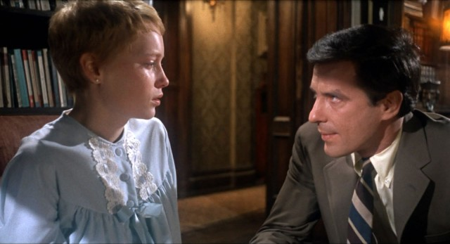 Rosemary and Guy Woodhouse (Mia Farrow and John Cassevetes)